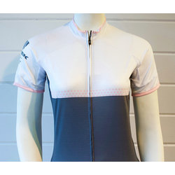 Trek of CLT Women's Custom Bontrager Jersey - White/Grey