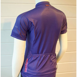 Trek of CLT Women's Custom Bontrager Jersey - Purple/Coral