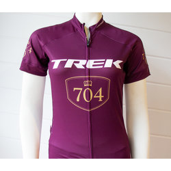 Trek of CLT Women's Custom Bontrager Jersey - Maroon