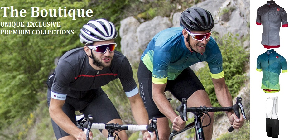 Boutique cycling apparel collections