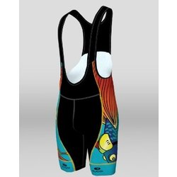 Sugoi Evolution Bib shorts Flying Fish Bikes Custom
