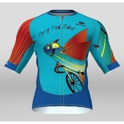 Sugoi Evolution Jersey Flying Fish Bikes Custom