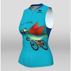 Sugoi Women's RS Tri Tank Flying Fish Bikes