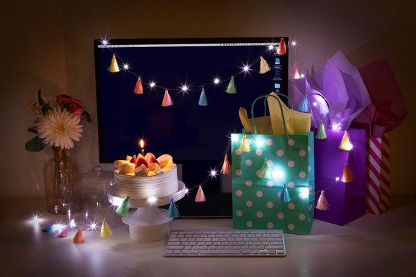 Brightz Tassel LED Lights