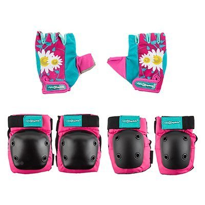 Kidzamo Knee and Elbow Pad Set with Gloves