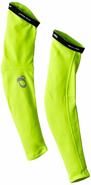 Pearl Izumi Elite Thermal Arm Warmers Color: Screaming Yellow