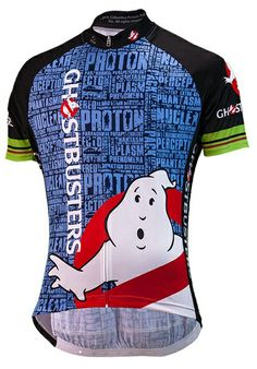 BRAINSTORM Ghostbusters Slimer Cycling Jersey