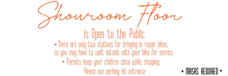 Showroom Floor is Open to the Public