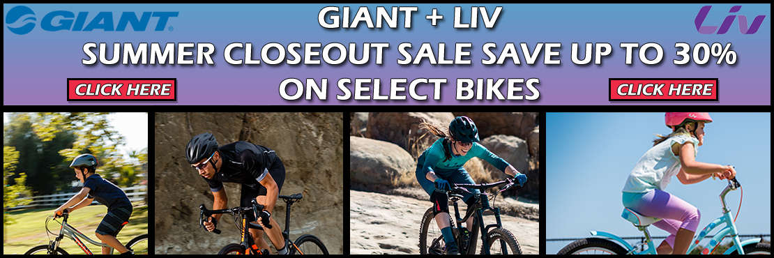 Giant and Liv Closeout Bikes