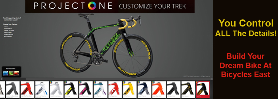 Trek Project One - Customize your Trek Bike