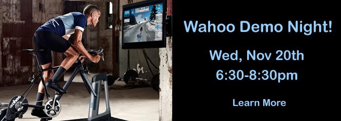 Wahoo Demo Night