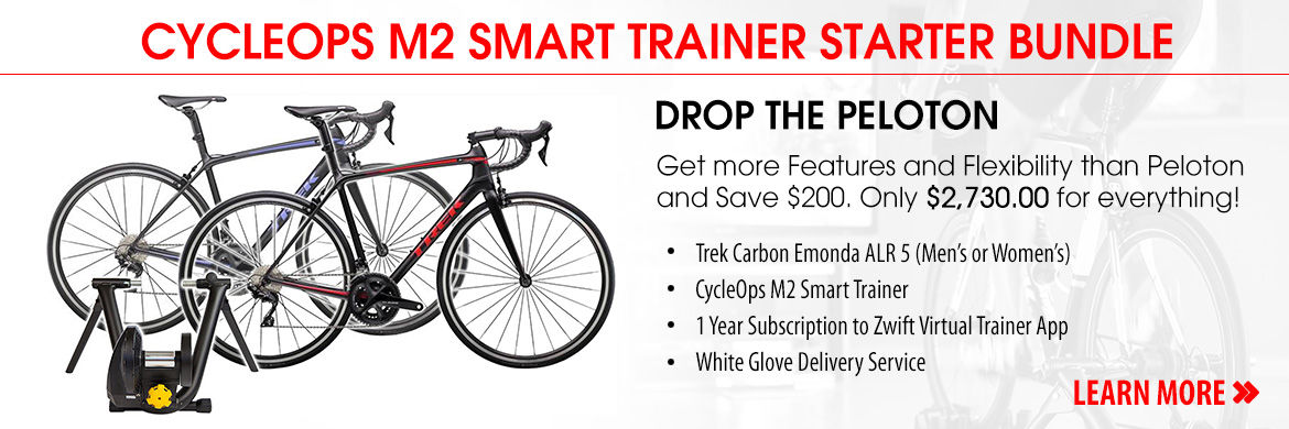 Smart Trainer Trek Road Bike Bundle