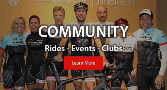 Community: Rides, Events, Clubs