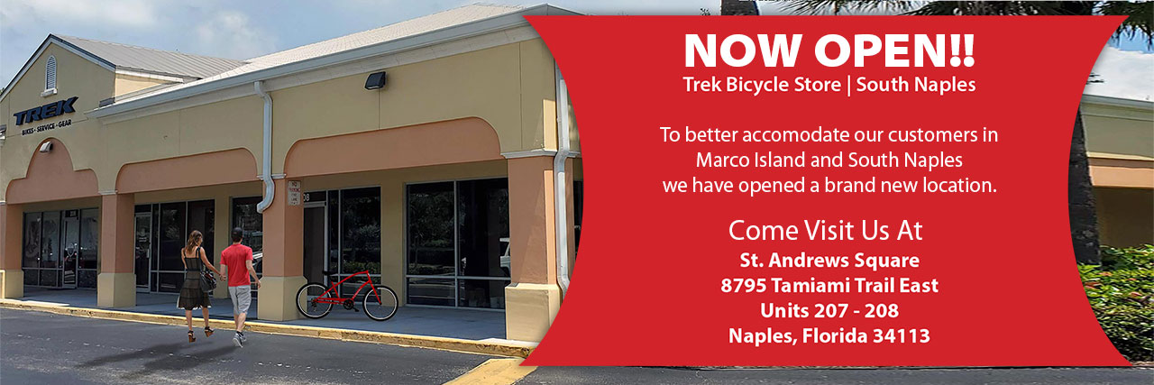 Trek Bicycle Store South Naples Now Open