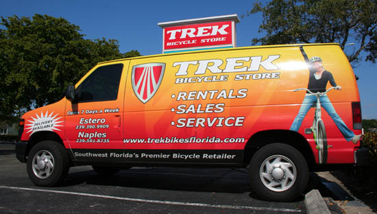 Trek Bicycle Store Pick-up and Delivery Service