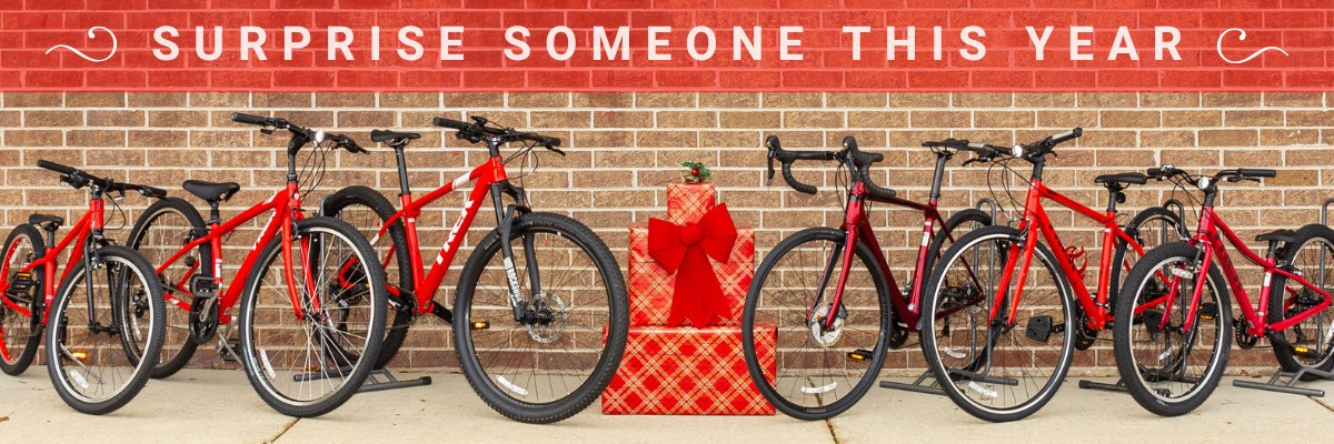 Surprise someone this year with a new bike