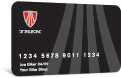 Trek Card - Financing