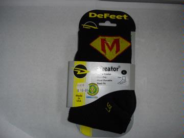 DeFeet Super M Logo Sock