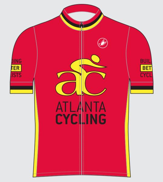 Castelli 2018 AC Custom Mens Jersey Red
