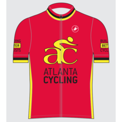 Castelli 2018 AC Custom Mens Jersey Red