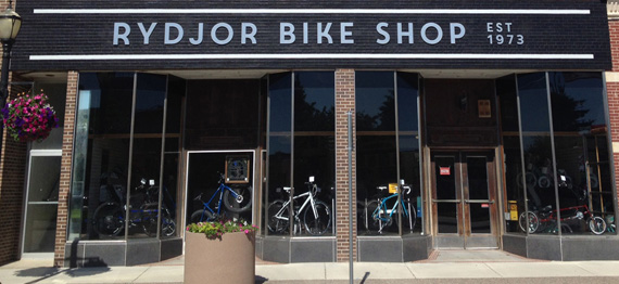 Rydjor Bike Shop - store front
