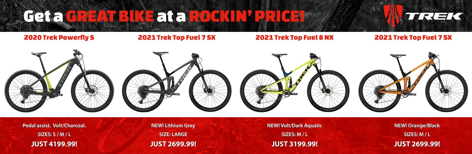 Super Sale on New Trek Bikes!