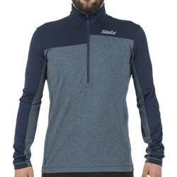 Swix Men's Myrene Asymmetric 1/2 Zip Midlayer