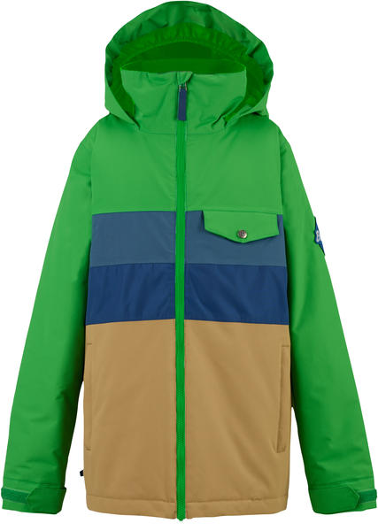 Burton Symbol Jacket Color: Slime Block