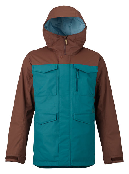 Burton Covert Jacket Color: Jasper/Chestnut