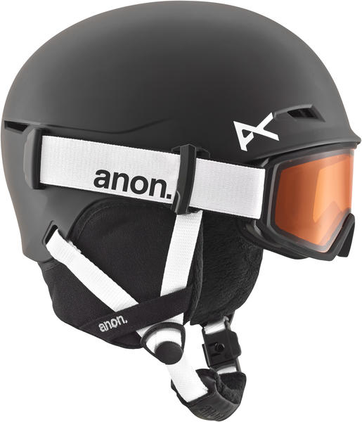 Anon Define Helmet & Goggles Color: Black