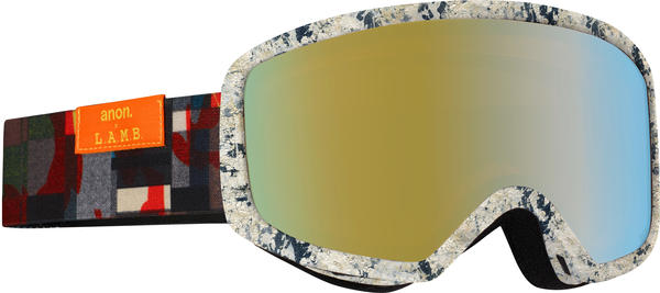 Anon Deringer MFI Goggles Color: L.A.M.B. w/ Gold Chrome lens