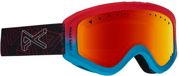 Anon Tracker Goggles Color: Impossible w/ Red Amber lens