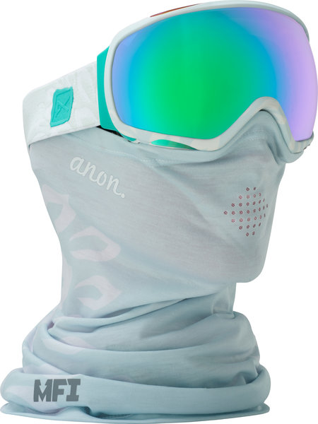 Anon Tempest MFI Goggles Color: Empress White w/ Green Solex
