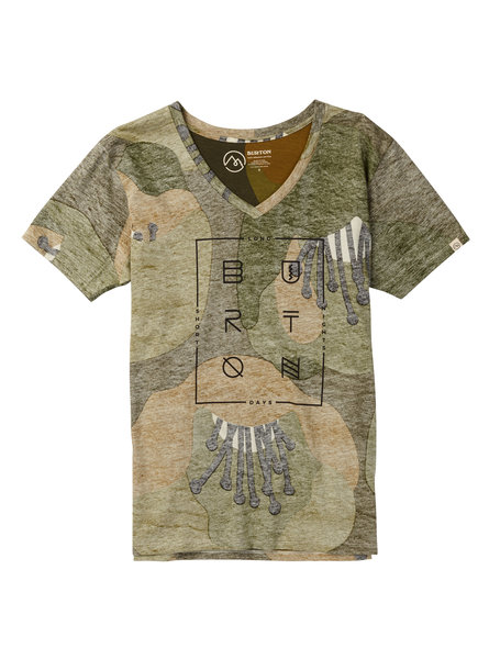 Burton Women's Never Sleep V-Neck Tee