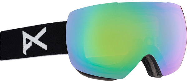 Anon MIG Goggles Color: Black w/ Sonar Green lens