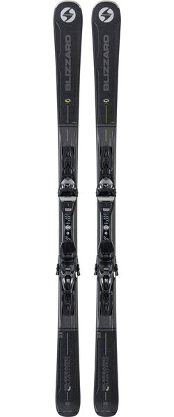 Blizzard Men's Quattro 7.7 Alpine Skis w/ TPC 10 Bindings