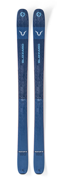 Blizzard Mens Rustler 10 Alpine Skis