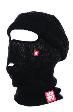 Air Hole Facemasks Balaclava Beanieclava Acrylic Black