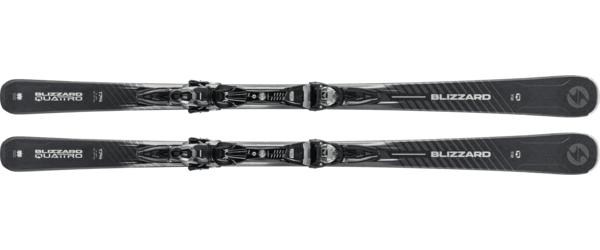 Blizzard Quattro 7.2 Alpine Skis w/ TPC10 Bindings