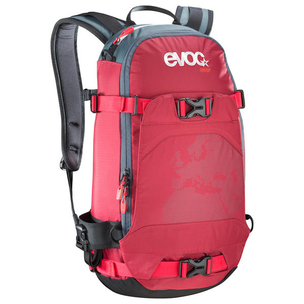 evoc Drop Backpack Color: Ruby