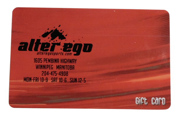 Alter Ego Gift Card