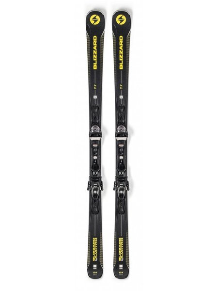 Blizzard Quattro 7.7 Alpine Skis w/ TPC10 Bindings