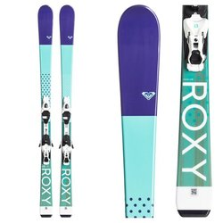 Roxy Kaya 72 Alpine Skis w/ Lithium 7 Bindings