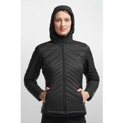 Icebreaker Merino LOFT Stratus Long Sleeve Zip Hood (Black)