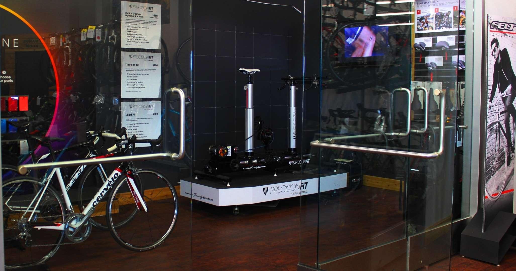 Bike fit station