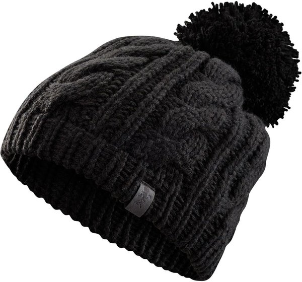 Arcteryx CABLE POM POM HAT Color: BLACK