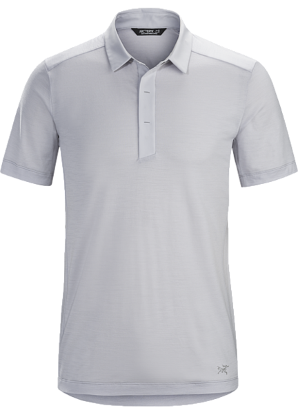 Arcteryx A2B POLO SHIRT SS Color: DELOS GREY