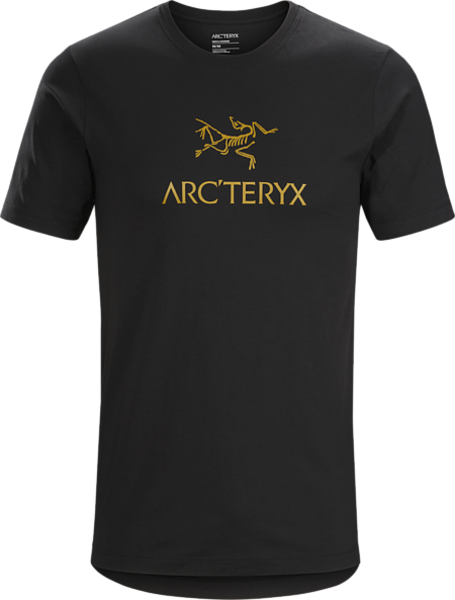 Arcteryx ARC'WORD T-SHIRT SS MEN'S Color: 24K BLACK