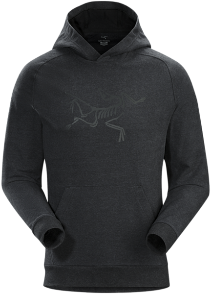 Arcteryx ARCHAEOPTERYX PULLOVER HOODY Color: NEW BLACK HEATHER