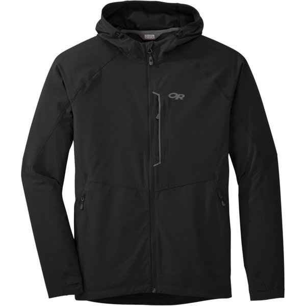 Outdoor Research FERROSI HOODED JACKET - MEN'S Color: BLACK